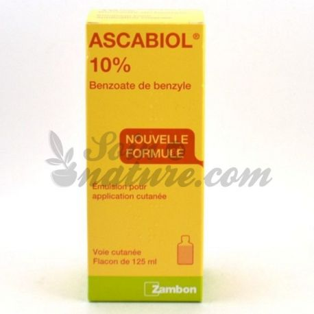 ASCABIOL LOTION LOTION 125ml INSECTICIDE