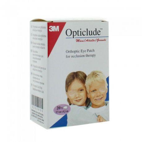 Screen Opticlude Orthoptique 20 Dressings Adult