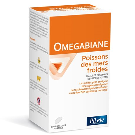 PILEJE OMEGABIANE fish from cold seas 100 capsules