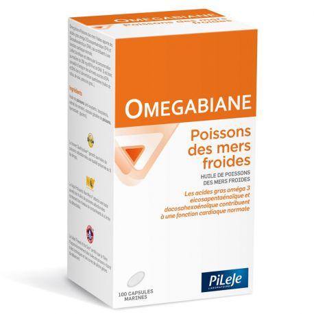 Pileje Omegabiane vissen uit koude zee 100 capsules