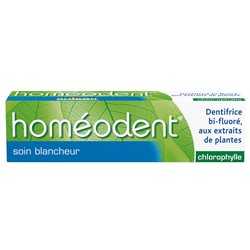 HOMEODENT SOIN BLANCHEUR CHLOROPHYLLE HOMEOPATHIE BOIRON