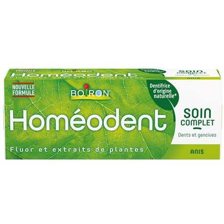 HOMEODENT SOIN COMPLET DENTS ET GENCIVES Arome Anis HOMEOPATHIE BOIRON