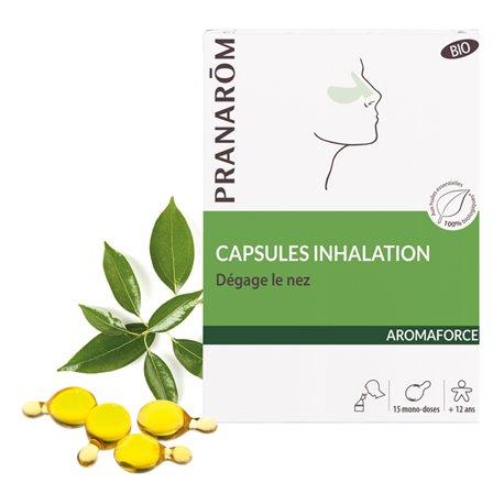 Aromaforce Inhalación cápsulas Bio Pranarom