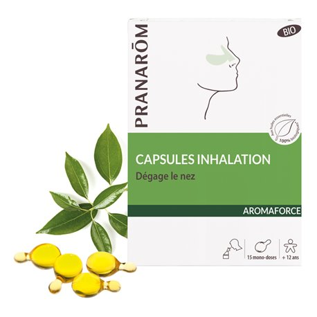 Aromaforce Inhalation Capsules Bio Pranarom