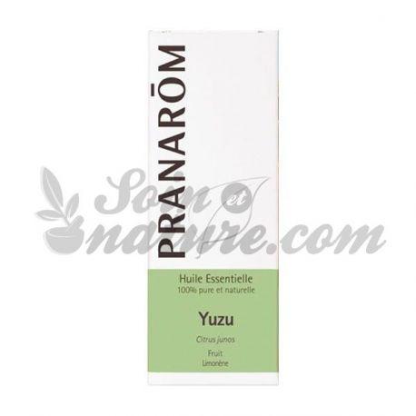 Huile essentielle Yuzu Zeste Pranarom 5ml