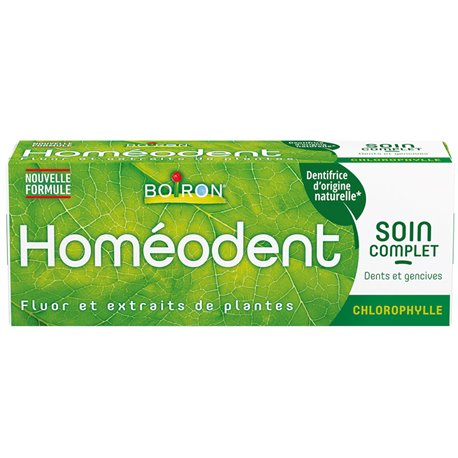HOMEODENT SOIN COMPLET DENTS ET GENCIVES Arome Chlorophylle HOMEOPATHIE BOIRON