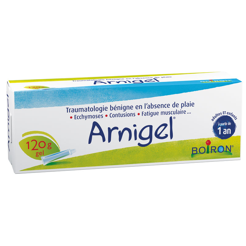 arnigel boiron 120 g gel arnica anti inflammatoire. Black Bedroom Furniture Sets. Home Design Ideas