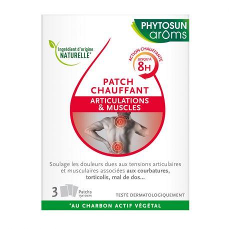 Patchs Articulations et Muscles Phytosun Aroms Boite de 3