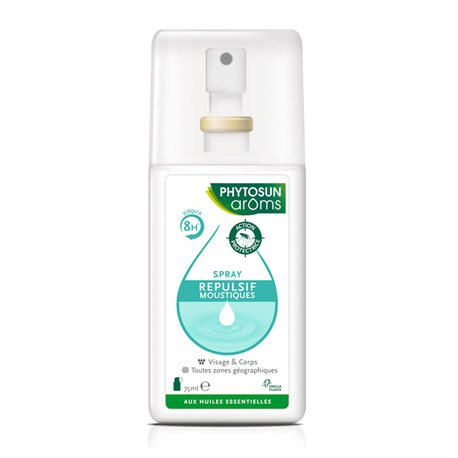 Anti Mosquito Repellent Spray 75ml Phytosun Naturel Arôms