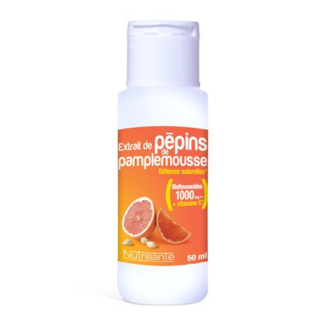 NUTRISANTE PEPIN GRAPEFRUIT EXTRACT 50ML