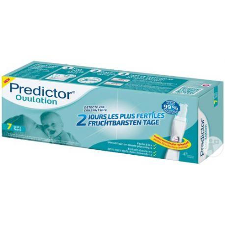 Prueba de Ovulación Predictor Box urinaria 7