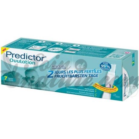 Teste de ovulação Predictor Box urinária 7