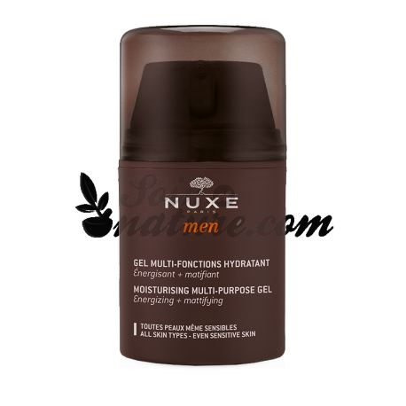Hidratante Gel Nuxe Men 50ml Funciones Múltiples