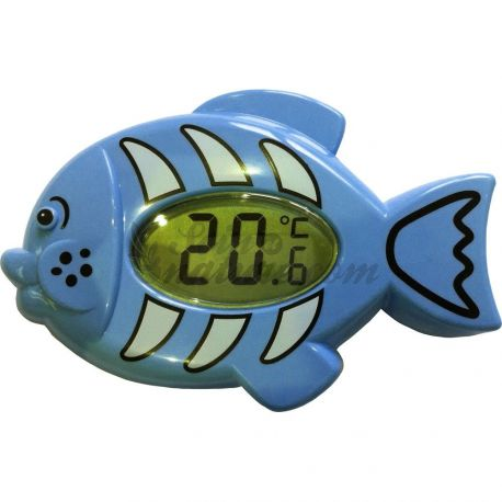 ELECTRONIC THERMOMETER BATH FISH