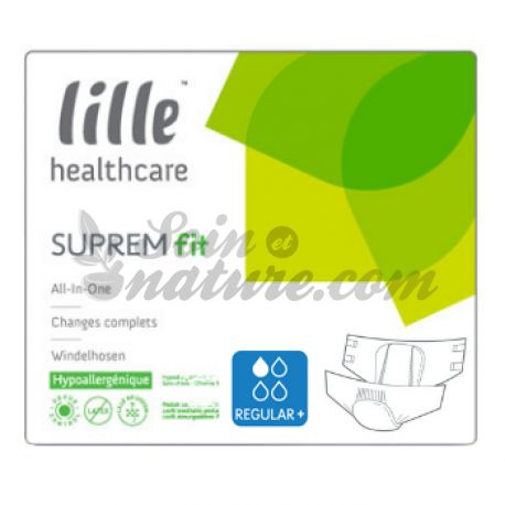 Disposable nappies Suprem Regular Fit Lille Healthcare
