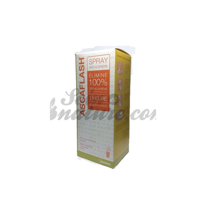 ascaflash spray 500ml anti mites. Black Bedroom Furniture Sets. Home Design Ideas