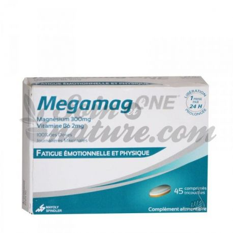 MegaMag One magnesium extended release 45 tablets