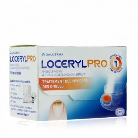 LOCERYL-PRO Curanail GALDERMA AMOROLFINE 5% 2,5 ML