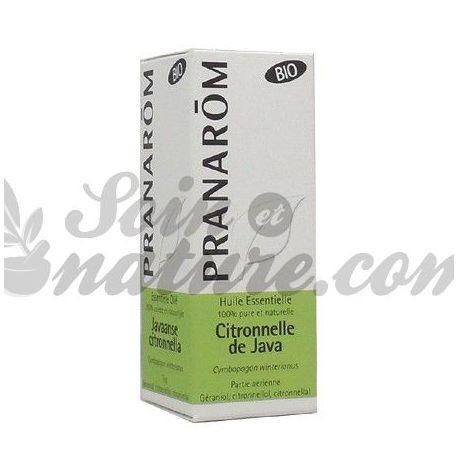 Orgánica de aceite esencial de citronela de Java 10ml Pranarom