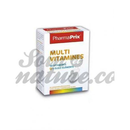 Pharmaprix Multivitaminas 24 comprimits efervescents