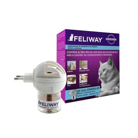 FELIWAY Diffuseur pour chats + Recharge 30 Jours