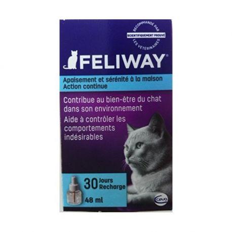 RECHARGE Feliway Diffuser 30 DAGEN 48 ml CATS