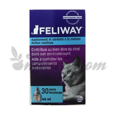 RECHARGE FELIWAY DIFFUSEUR 30 JOURS 48ML CHATS