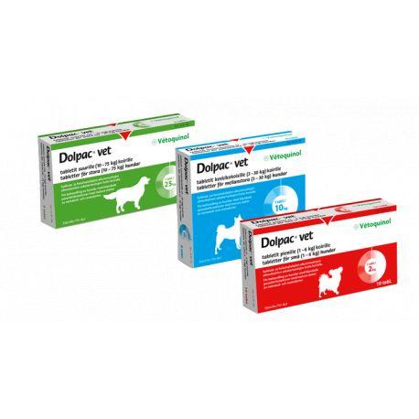 Dolpac cão Vermifuge 2 kg 10 comprimidos