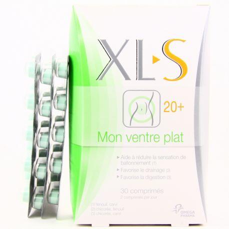 XLS MON VENTRE PLAT 20+ 30 GELULES MINCEUR
