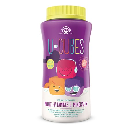 U-Cubos Solgar multi vitaminas e minerais Solgar Crianças 60 Gums