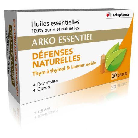Arko Esenciales Defensas Naturales 20 cápsulas Arkopharma