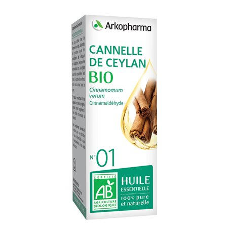 Arko óleo essencial de canela do Ceilão Essencial 5ml Arkopharma