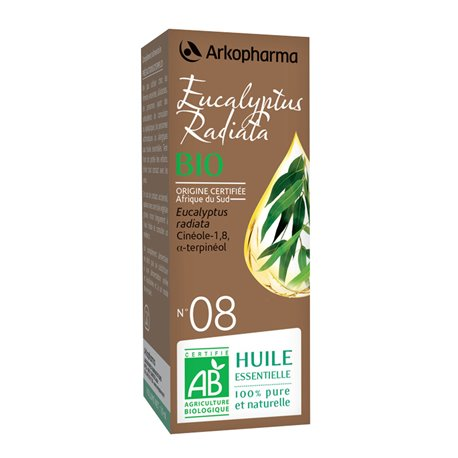 Arko Essential Eucalyptus Radiata Essential Oil 10ml Arkopharma