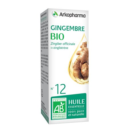 Arko Essentiele Ginger etherische olie 10ml Arkopharma