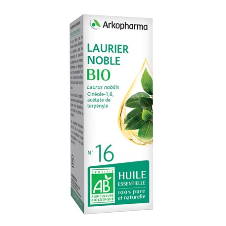 Arko Essential Laurier Noble olio essenziale 10ml Arkopharma