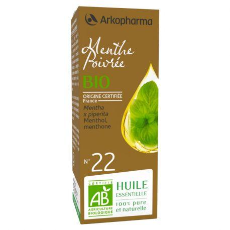 Arko essencial de menta 10 ml d'oli essencial Arkopharma