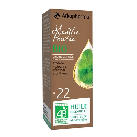 Arko essentieel Mint etherische olie 10ml Arkopharma