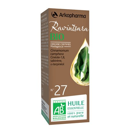 Arko Essential Ravintsara Essential Oil 10ml Arkopharma