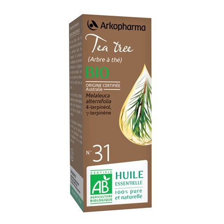 Arko Tea Tree Essencial 10ml Óleo Essencial Arkopharma