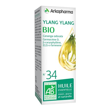 Arko Essential Ylang Ylang Essential Oil 10ml Arkopharma