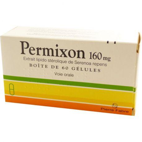 Permixon 160 mg cápsulas