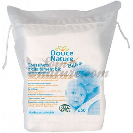 Douce Nature protectores de lactancia Orgánica 30 Unidades