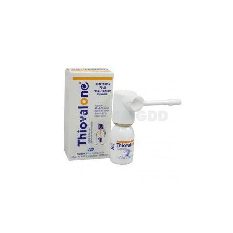 Angina Thiovalone Mondwater 12ml Keelpijn