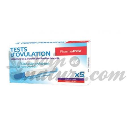 PHARMAPRIX 5 OVULATION TESTS
