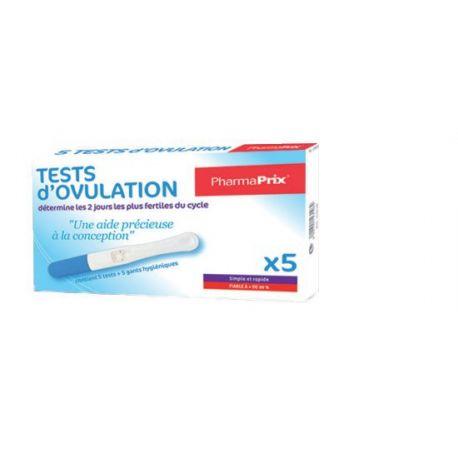 Pharmaprix 5 Testes de Ovulação