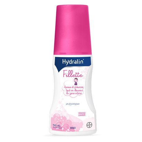 Hydralin íntima limpeza menina de espuma