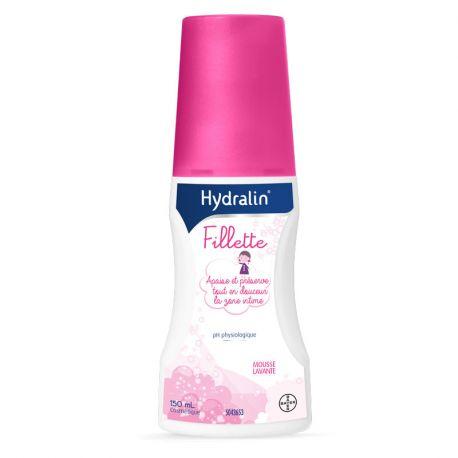 Hydralin niña de espuma de limpieza íntima