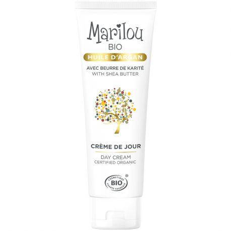 Crème de jour Huile Argan Marilou Bio 50ml