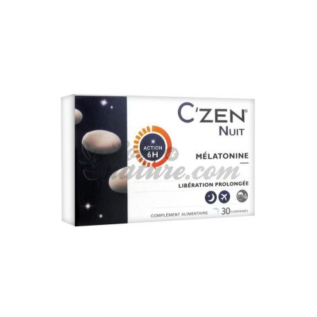 Melatonin Nacht C'Zen 30 Tabletten