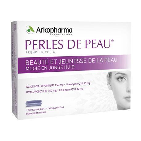 ARKOGELULES PEARLS OF SKIN حمض الهيالورونيك 120 MG 30 كبسولات ARKOPHARMA